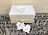 Shabby Personalised Chic In Memory Of A BROTHER Loved One Keepsake Box ANY NAME - 253965541987